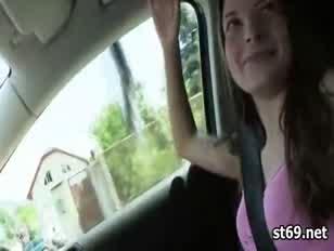 Amatőr lány vesz kockázatos fasz